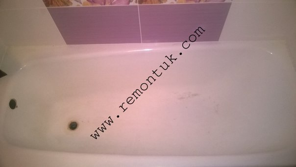 Реставрація ванн фото