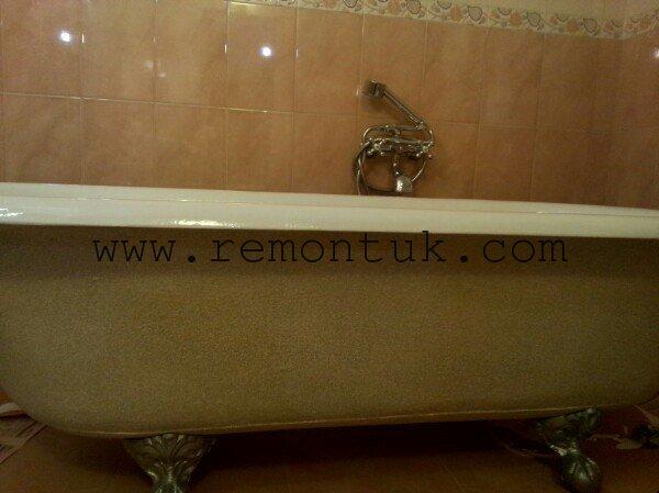реставрація антикварної ванни